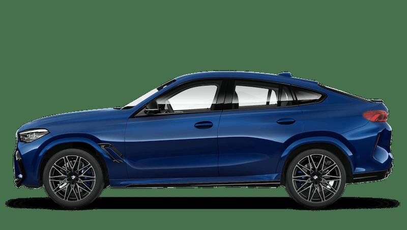 Tanzanite Blue (Metallic) BMW X6 M Competition
