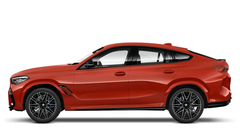 Toronto Red (Metallic) BMW X6 M Competition