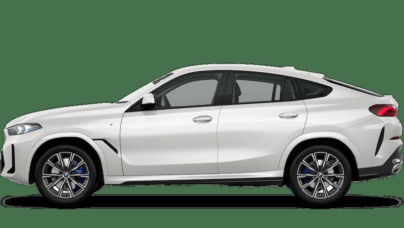 Mineral White (Metallic) BMW X6