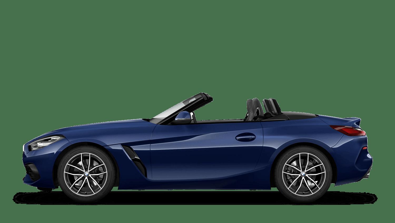 Mediterranean Blue (Metallic) BMW Z4