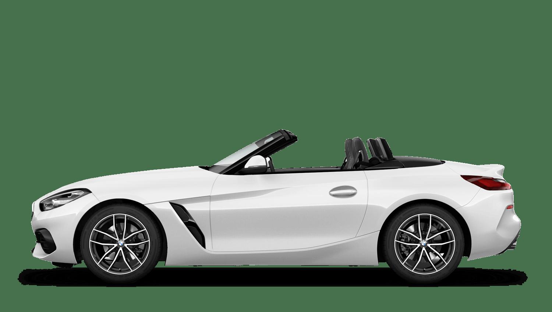 Mineral White (Metallic) BMW Z4