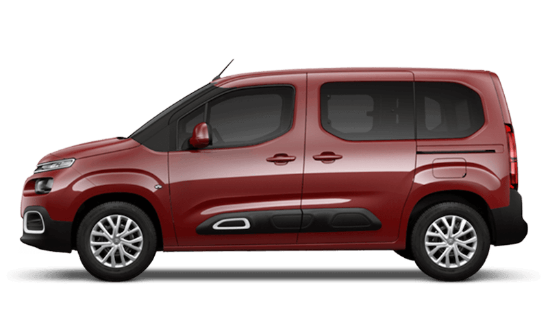 Passion Red New Citroen Berlingo