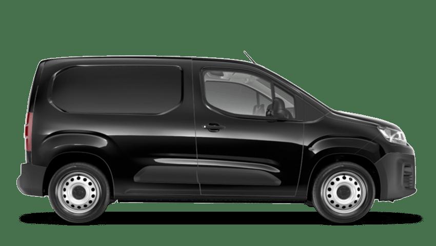 Black Citroen Berlingo Van