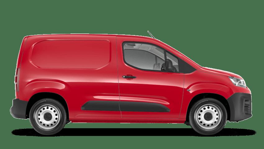 Passion Red Citroen Berlingo Van