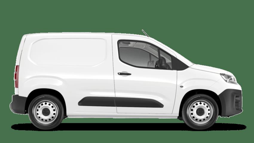 Polar White Citroen Berlingo Van