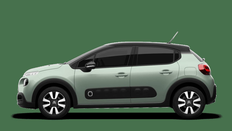 Almond Green Citroën C3