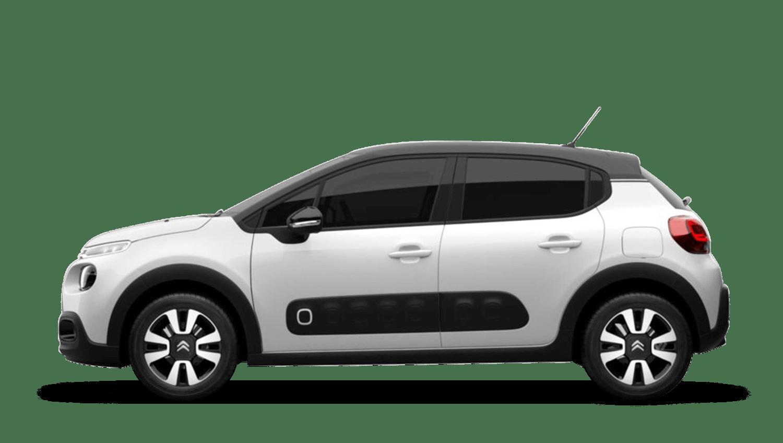 Polar White Citroën C3