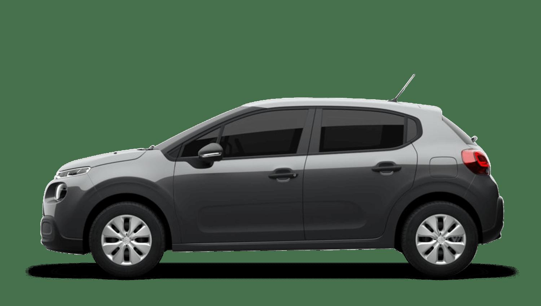 Platinum Grey (Metallic) Citroën C3