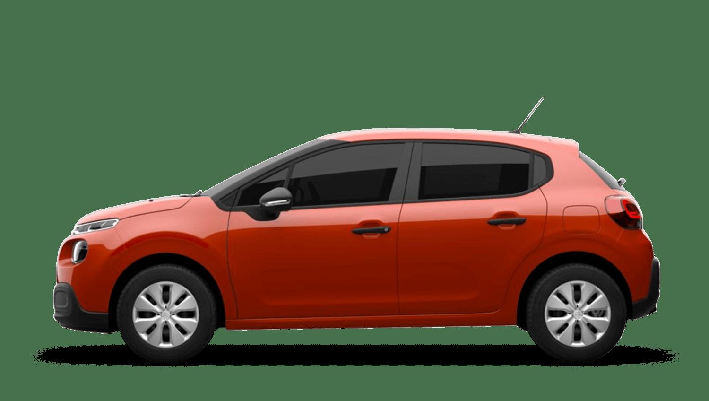 Power Orange (Metallic) Citroën C3