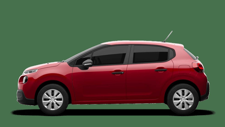 Ruby Red (Metallic) Citroën C3