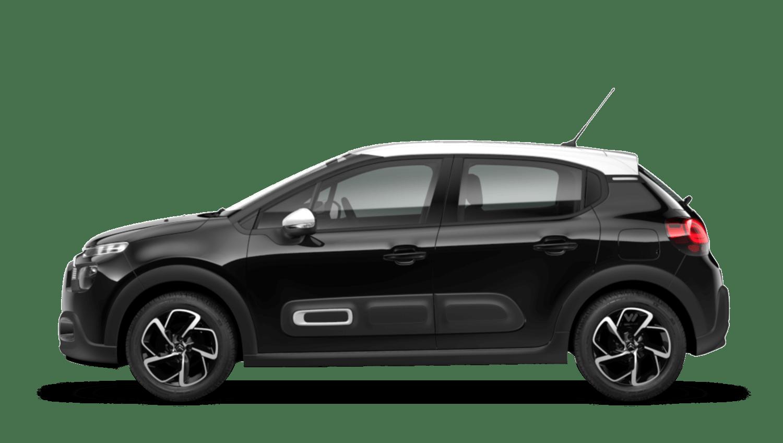 Perla Nera Black (Metallic) Citroën C3 New