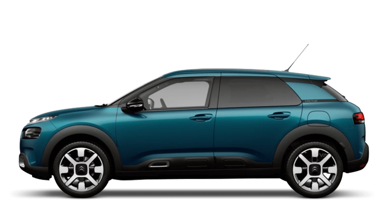 Emerald Blue (Metallic) Citroën C4 Cactus Hatch