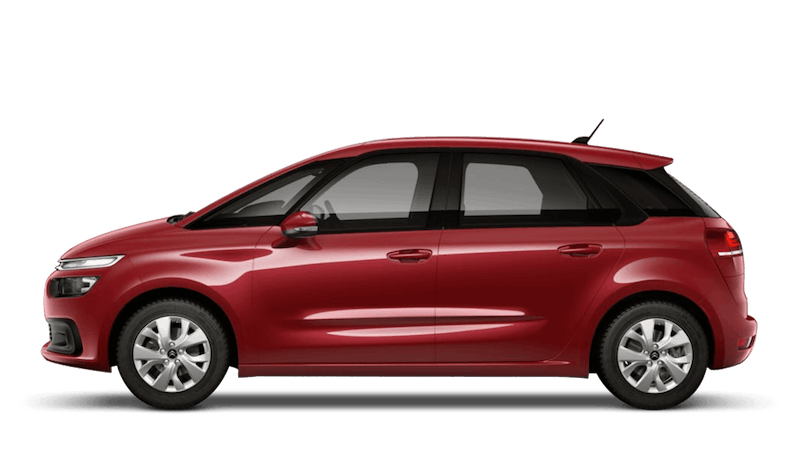 Ruby Red Citroen C4 Spacetourer
