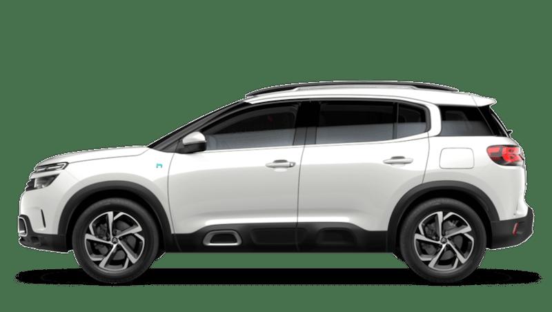 Pearl White (Metallic) Citroen C5 Aircross SUV Hybrid