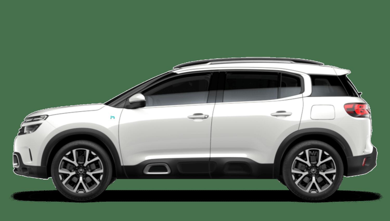 Pearl White (Metallic) Citroën C5 Aircross Suv Hybrid