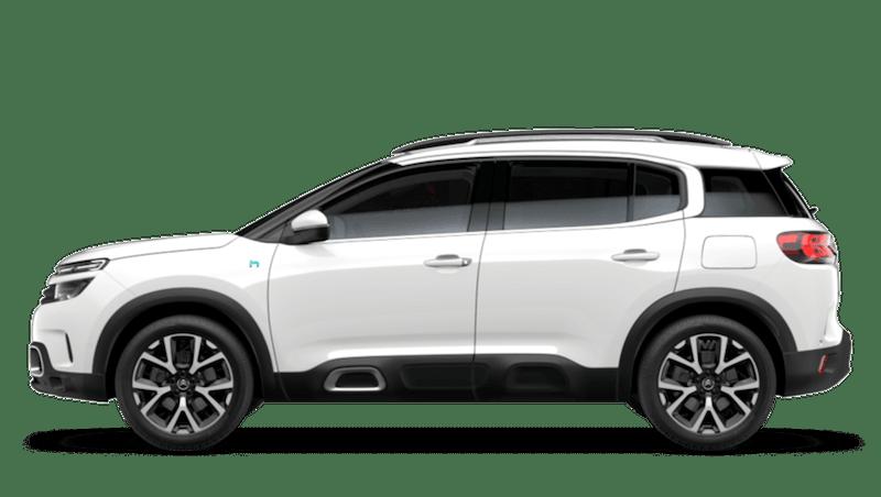 Polar White Citroen C5 Aircross SUV Hybrid