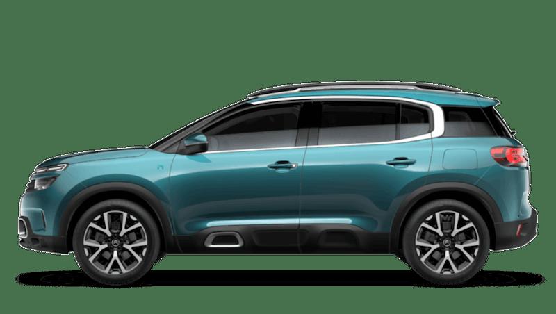 Tijuca Blue (Metallic) Citroen C5 Aircross SUV Hybrid
