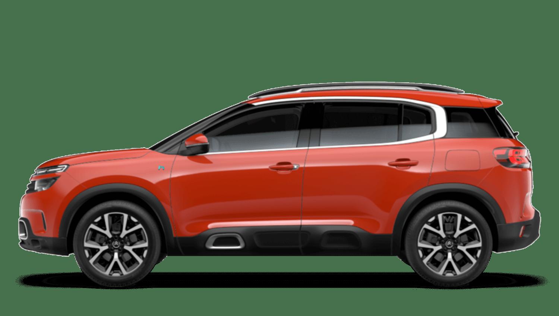 Volcano Red (Metallic) Citroën C5 Aircross Suv Hybrid