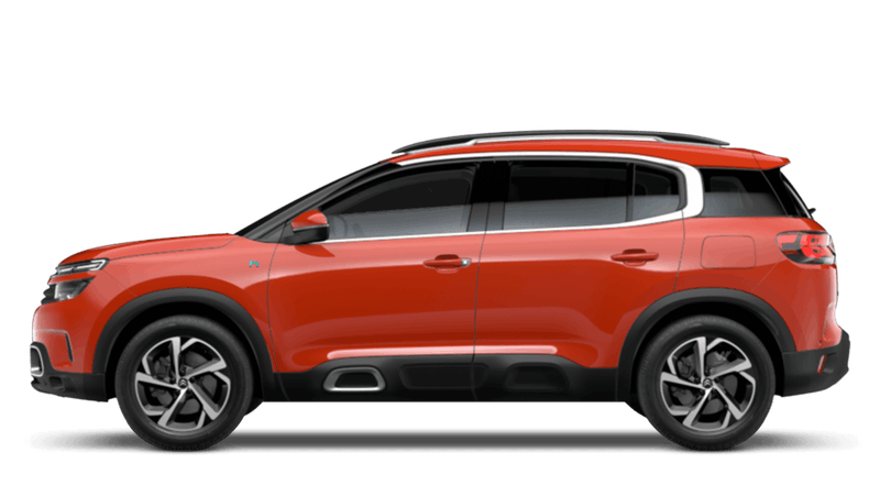 Volcano Red (Metallic) Citroen C5 Aircross SUV Hybrid