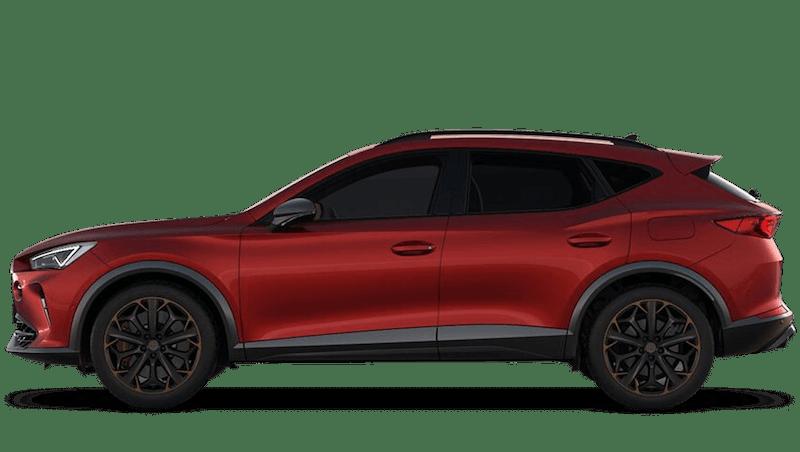 Desire Red (Premium Metallic) CUPRA Formentor