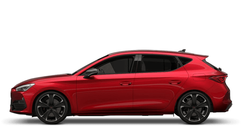 Desire Red (Metallic) CUPRA Leon