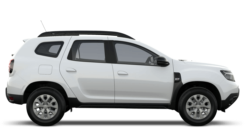Glacier White New Dacia Duster