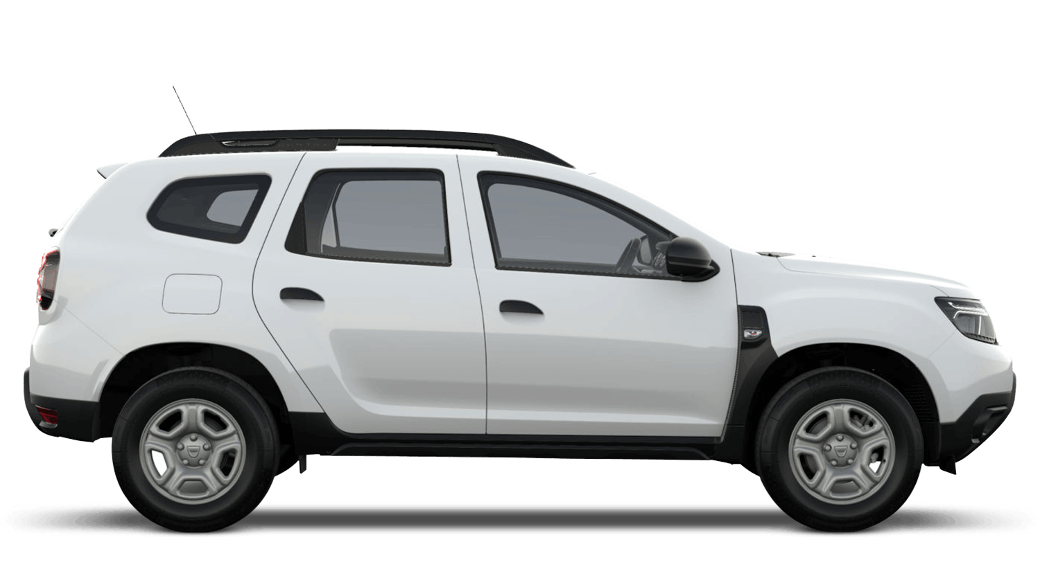 Glacier White New Dacia Duster