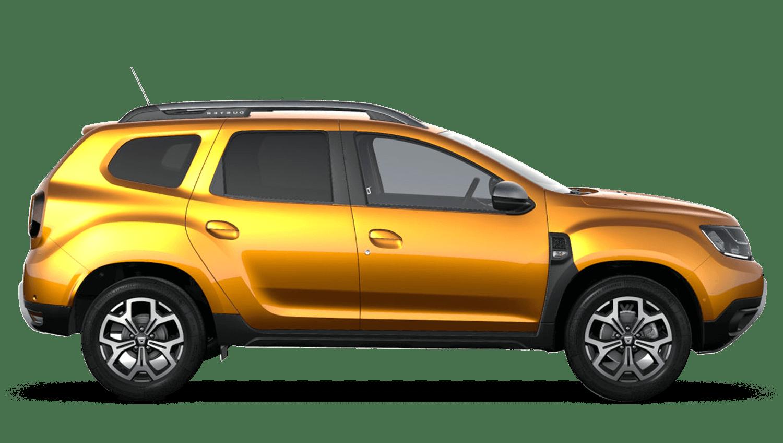 Desert Orange New Dacia Duster