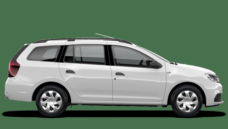 Glacier White Dacia Logan MCV
