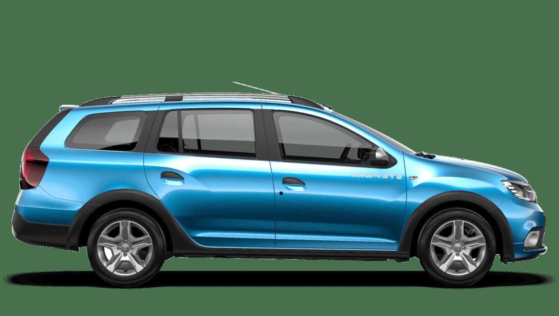 Azurite Blue Dacia Logan MCV Stepway