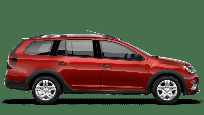 Fusion Red Dacia Logan MCV Stepway