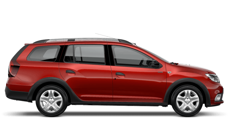 Fusion Red Dacia Logan Mcv Stepway