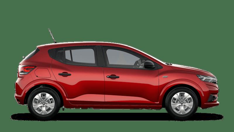 Fusion Red All-New Dacia Sandero