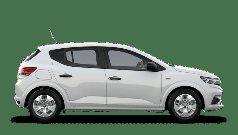 Glacier White All-New Dacia Sandero