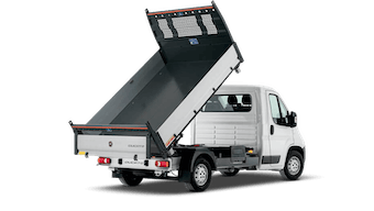 Fiat Ducato Crew 3-Way Tipper