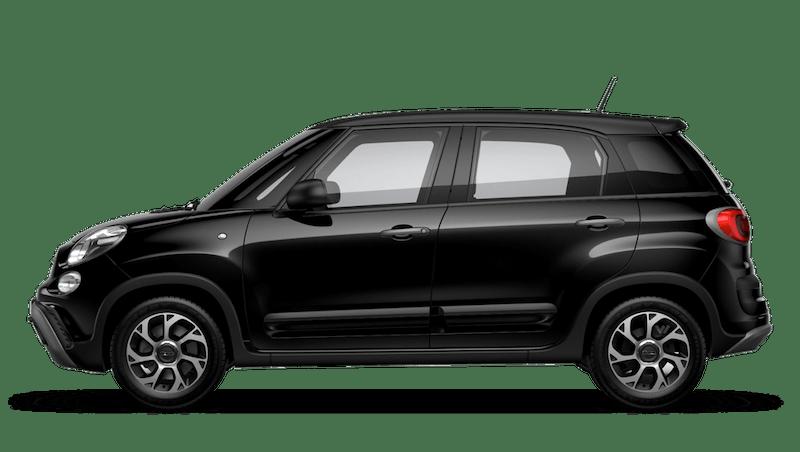 Darkwave Black with Matt Black Roof (Bi-colour) FIAT 500l Cross Look