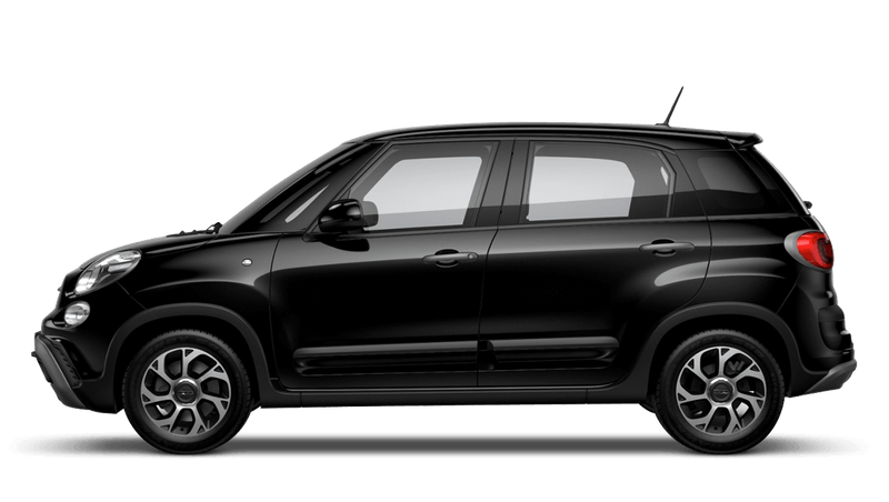 Darkwave Black (Pastel) FIAT 500l Cross Look