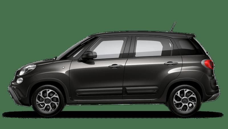 Heavy Metal Grey with Matt Black Roof (Bi-colour) FIAT 500l Cross Look