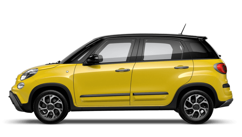 Hip Hop Yellow with Black Roof (Bi-colour) FIAT 500L Cross Look