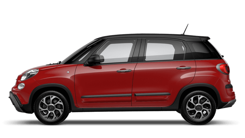 Pasodoble Red with Matt Black Roof (Bi-colour) FIAT 500L Cross Look
