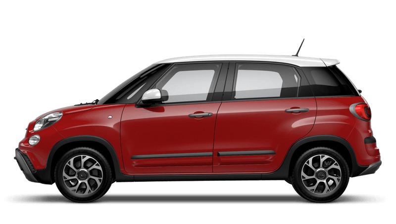 Pasodoble Red with White Roof (Bi-colour) FIAT 500l Cross Look