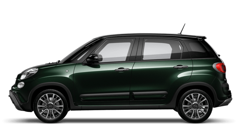 Beatbox Green with Black Roof (Bi-colour) FIAT 500L Cross Look