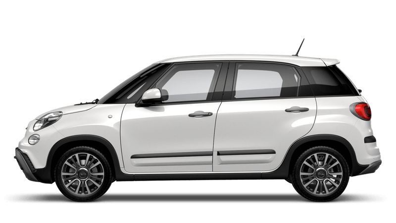 Bossa Nova White (Pastel) FIAT 500l Cross Look