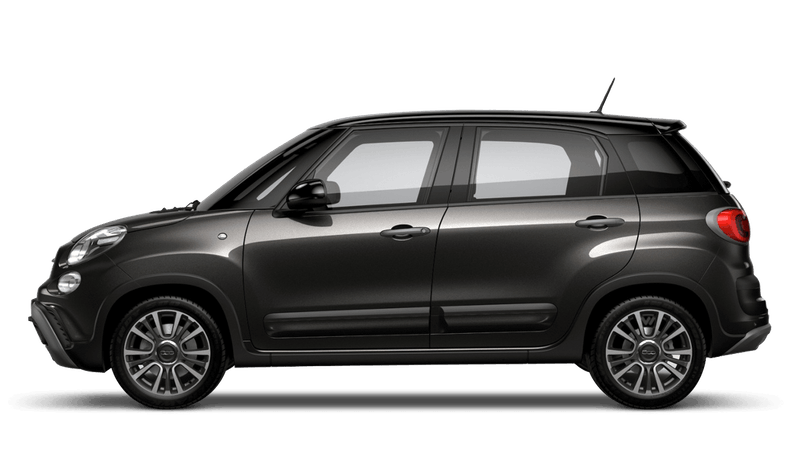 Heavy Metal Grey with Black Roof (Bi-colour) FIAT 500l Cross Look