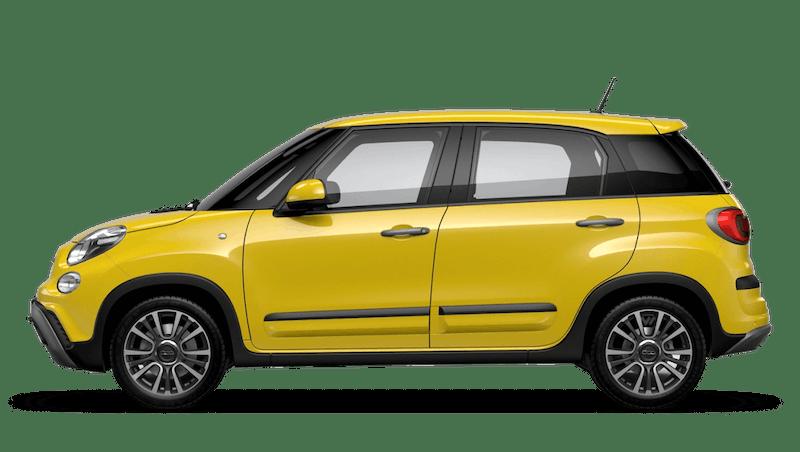 Hip Hop Yellow (Pastel) FIAT 500l Cross Look