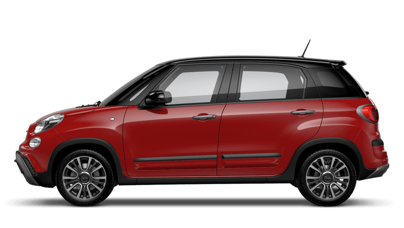 Pasodoble Red with Black Roof (Bi-colour) FIAT 500l Cross Look