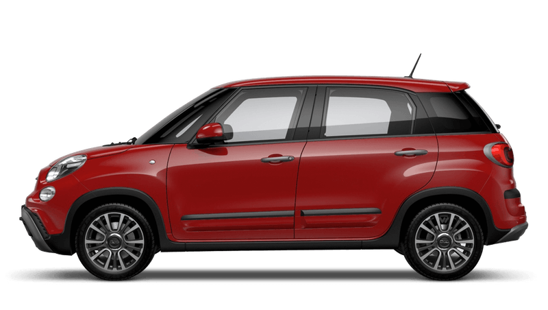 Pasodoble Red (Pastel) FIAT 500L Cross Look