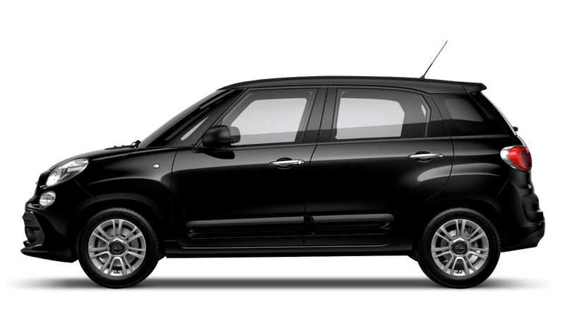 Darkwave Black with Matt Black Roof (Bi-colour) FIAT 500L Urban Look