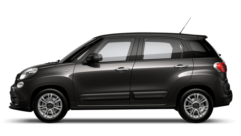 Heavy Metal Grey with Matt Black Roof (Bi-colour) FIAT 500L Urban Look