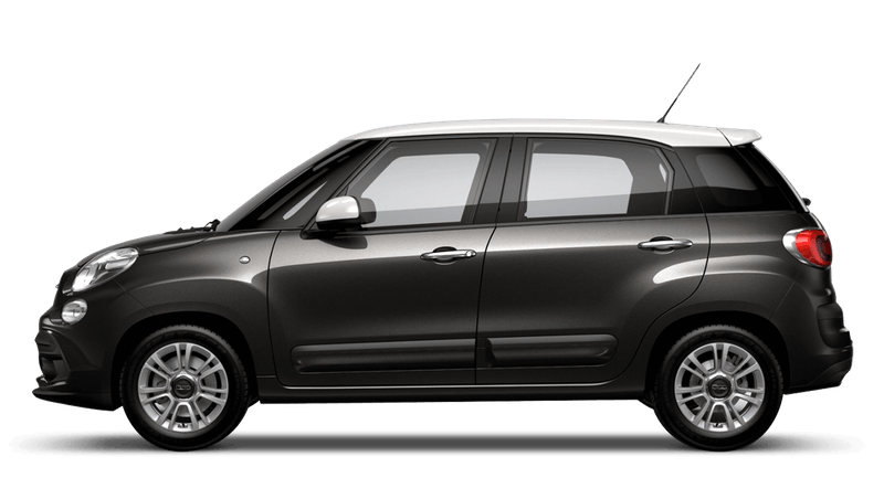Heavy Metal Grey with White Roof (Bi-colour) FIAT 500L Urban Look